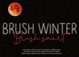 Brush Winter Script Font