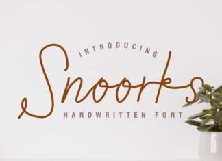 Snoorks Handwriting Font