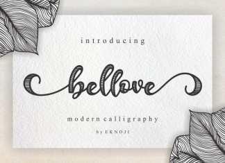 Bellove Script Font