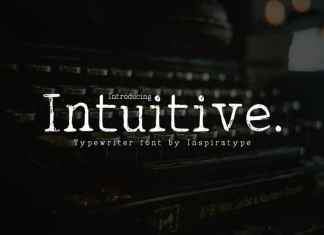Intuitive Display Font