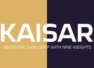 Kaisar Sans Serif Font