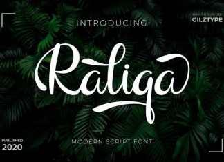 Raliqa Calligraphy Font