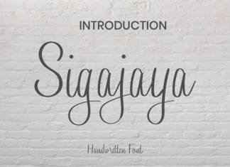 Sigajaya Handwritten Font
