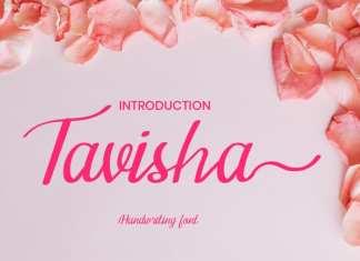 Tavisha Handwritten Font