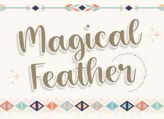 Magical Feather Modern Calligraphy Font