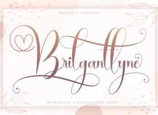 Brilganttyne Script Font