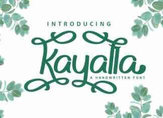 Kayalla Script Font