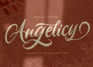 Angelicy Brush Font