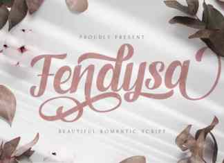 Fendysa Calligraphy Font