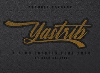 Yastrib Script Font