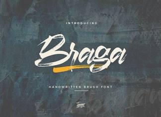 Braga Brush Font