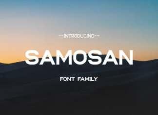 Samosan Sans Serif Font