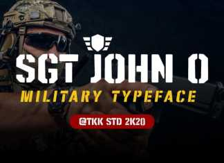 SGT Jhon O Display Font