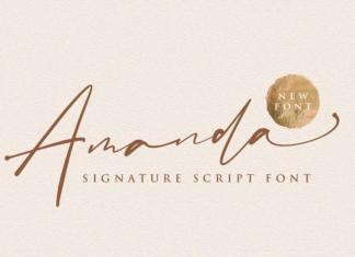 Amanda Handwritten Font