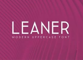 Leaner Sans Serif Font