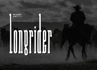 Long Rider Slab Serif Font