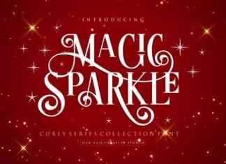 Magic Sparkle Display Font