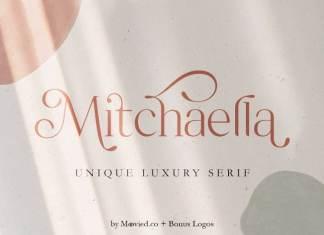 Mitchaella Luxury Serif Font