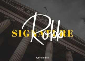 Robb Script Font