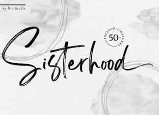 Sisterhood Brush Font