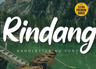 Rindang Script Font