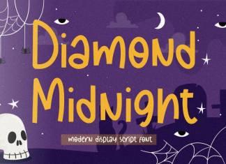 Diamond Midnight Modern Display Font