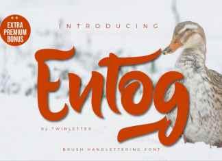 Entog Script Font