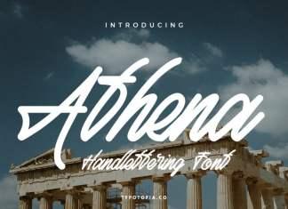 Athena Handwritten Font
