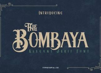 Bombaya Display Font