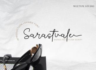 Sarastvale Signature Font
