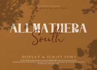 Allmathera South Font Duo