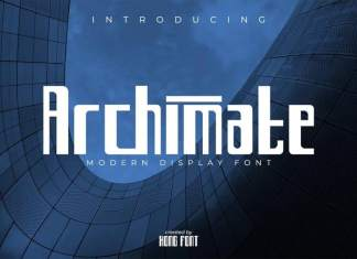 Archimate Display Font