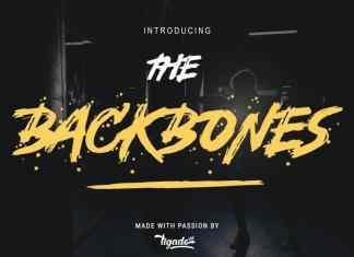 Backbones Font