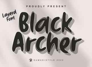 Black Archer Display Font