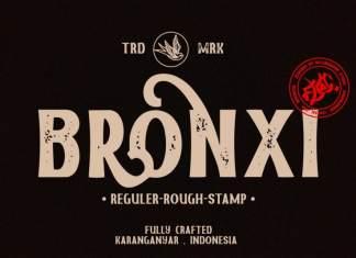Bronxi Display Font