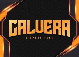 Calvera Display Font