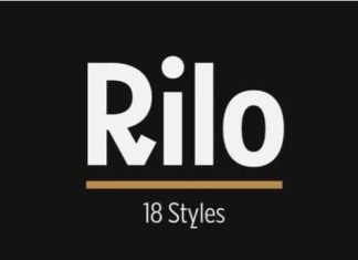 Riloos Sans Serif Font Family
