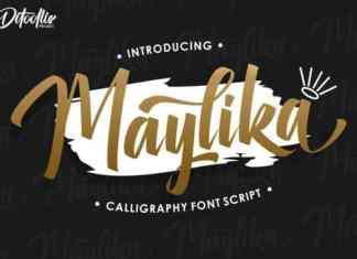 Maylika Script Font
