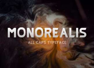 Monorealis Sans Serif Font