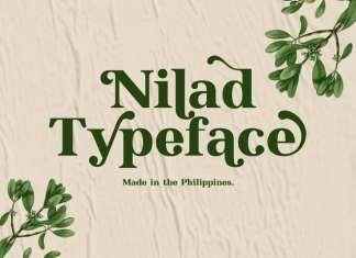 Nilad Serif Font