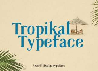 Tropikal Serif Font