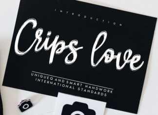 Crips love Script Font