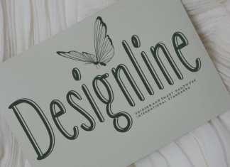 Designline Display Font