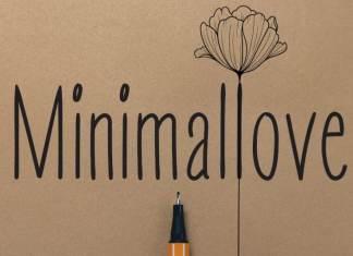 Minimallove Handwritten Font