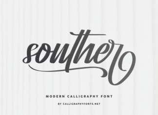 Souther Brush Script Font