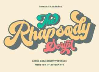 Rhapsody Script Typeface