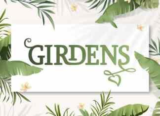 Girdens Display Font