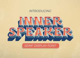 Innerspeaker Display Font