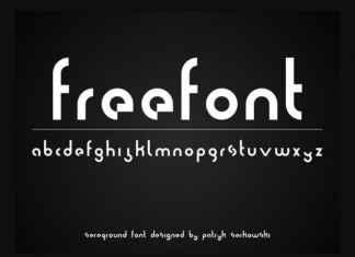 Sereq Display Font