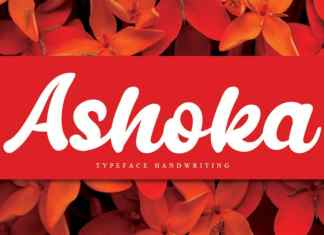 Ashoka Bold Script Font